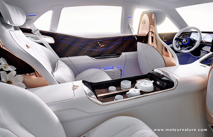 Concept Maybach Ultimate Luxury service à thé
