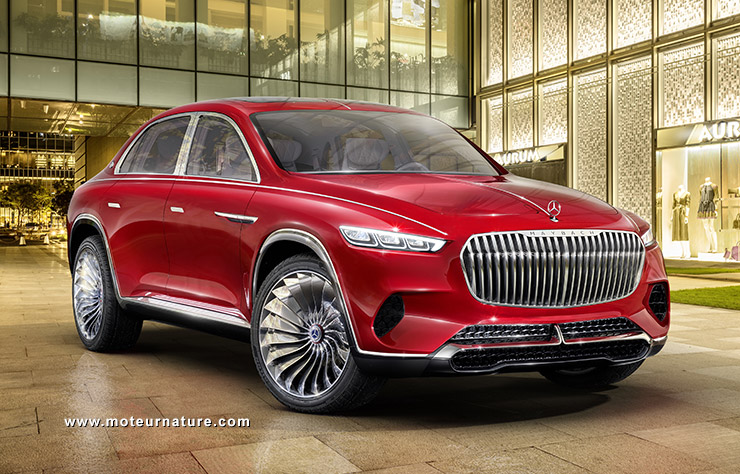 Concept Maybach Ultimate Luxury