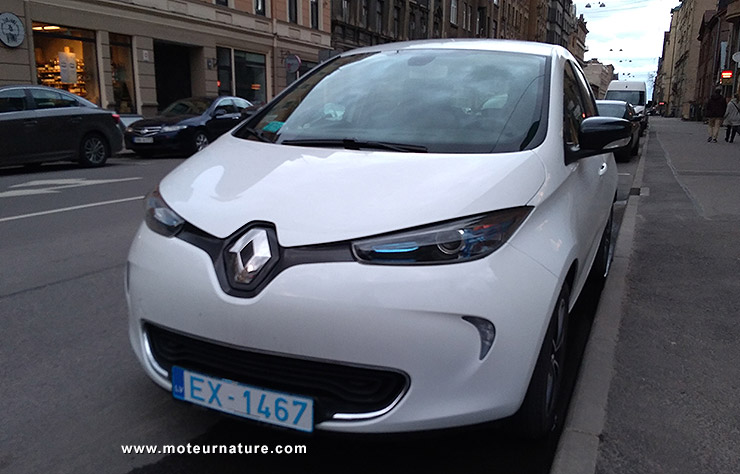 Renault Zoé en Lettonie