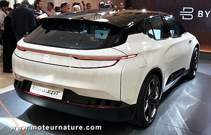 Byton concept de voiture électrique