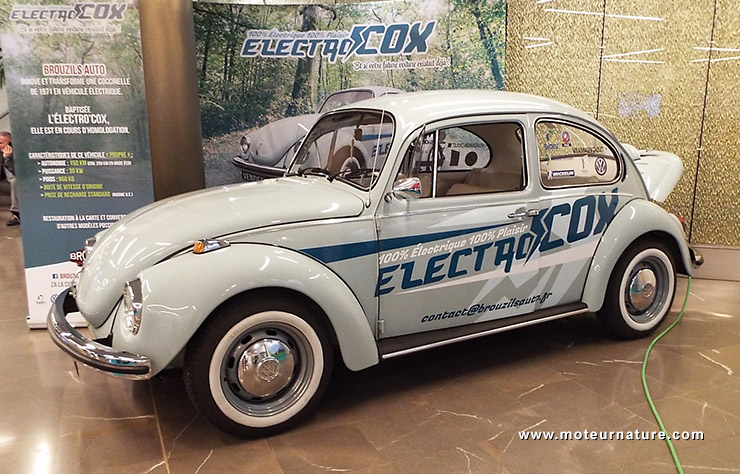 ElectroCOX Volkswagen Coccinelle électrique