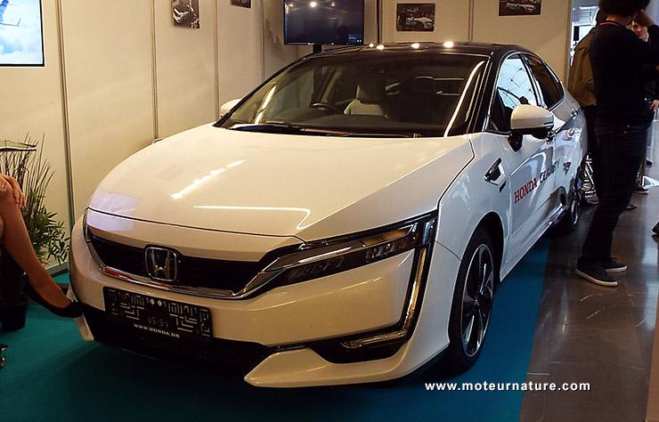 Honda à hydrogène