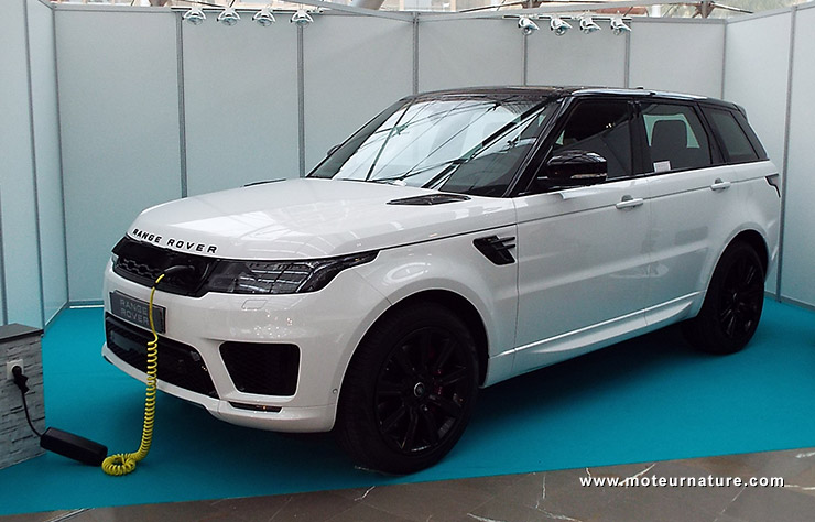 Range Rover P400 hybride rechargeable