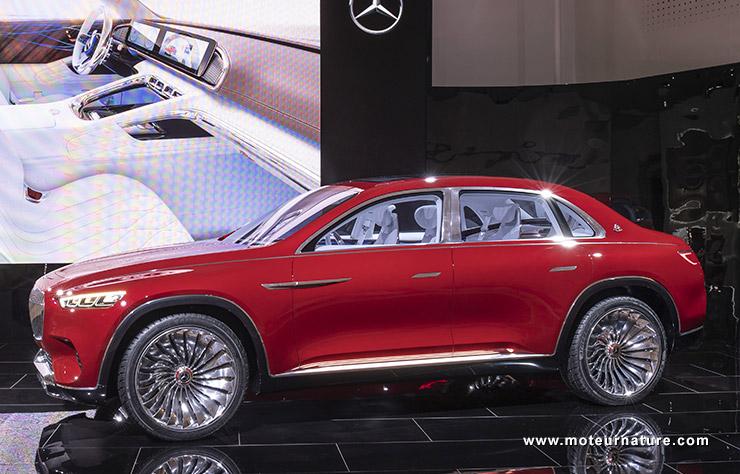 Vision Mercedes-Maybach Ultimate Luxury concept électrique
