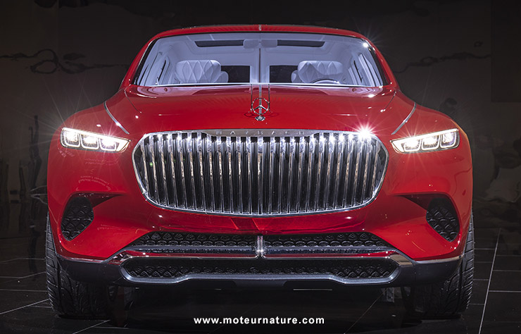 Vision Mercedes-Maybach Ultimate Luxury concept électrique