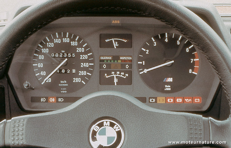 Tableau de bord BMW