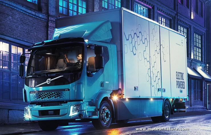 Camion électrique Volvo