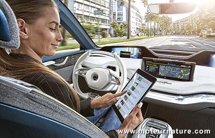 Voiture à conduite autonome