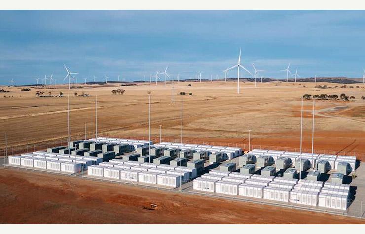 Batterie stationnaire en Australie