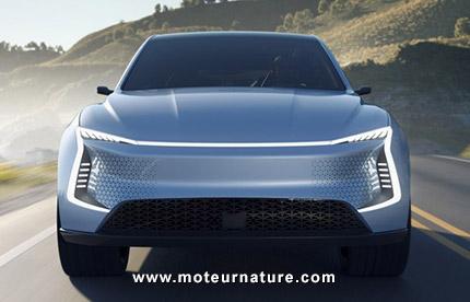 Crossover électrique de SF Motors