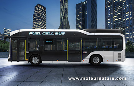 Toyota Sora Hydrogen Fuel Cell Bus