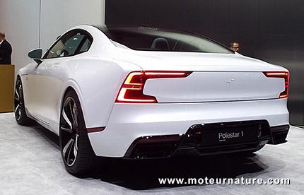 Polestar 1 coupé hybride rechargeable