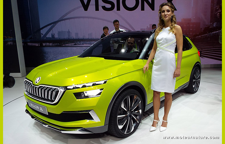 Concept Skoda Vision X