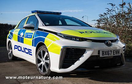 Toyota Mirai à hydrogène de la police de Londres