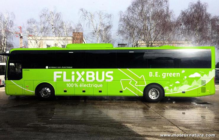 Autocar électrique Flixbus