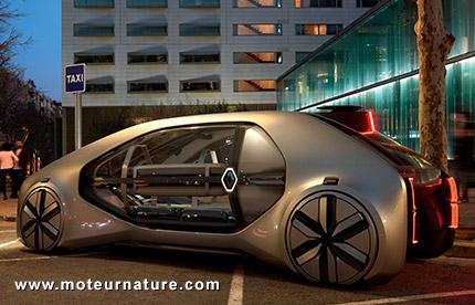 Concept électrique autonome Renault EZ-GO