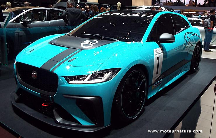Jaguar I-Pace de compétition