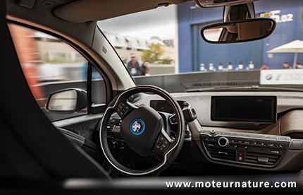 BMW i3 autonome