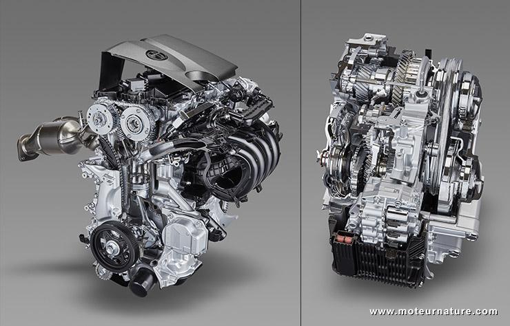 Toyota Dynamic Force Engine et nouvelle boite CVT