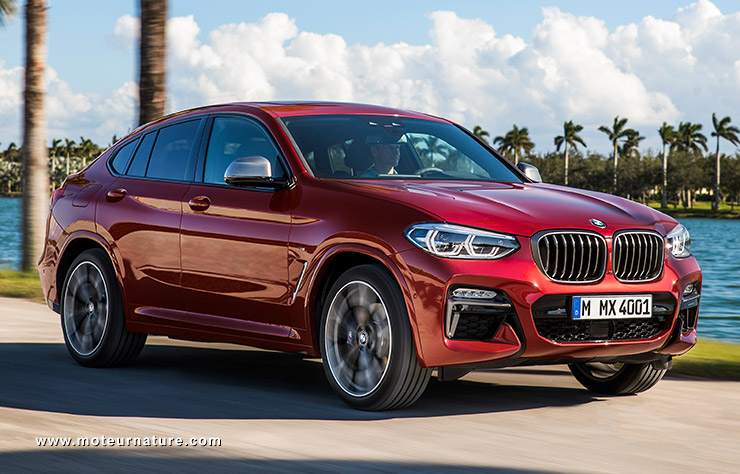 la bmw x4 un bel crin pour le moteur diesel. Black Bedroom Furniture Sets. Home Design Ideas