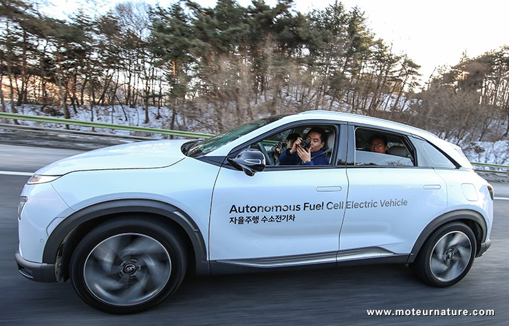 Hyundai Nexo autonome
