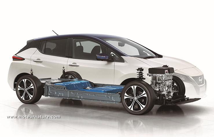 Nissan Leaf II électrique