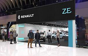 Renault ouvre un showroom dédié ou limité aux électriques?