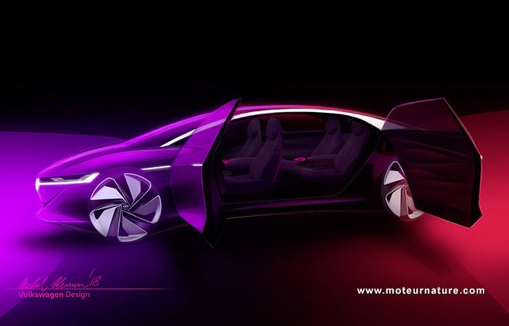 Volkswagen I.D. VIZZION concept