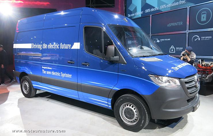Mercedes Sprinter électrique