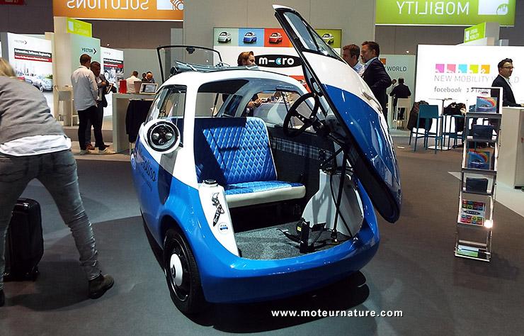 voiturette électrique Microlino