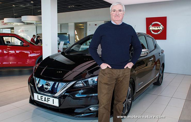 Premier client nouvelle Nissan Leaf