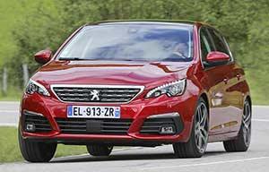 Peugeot 308: 3cylindres mais 8vitesses