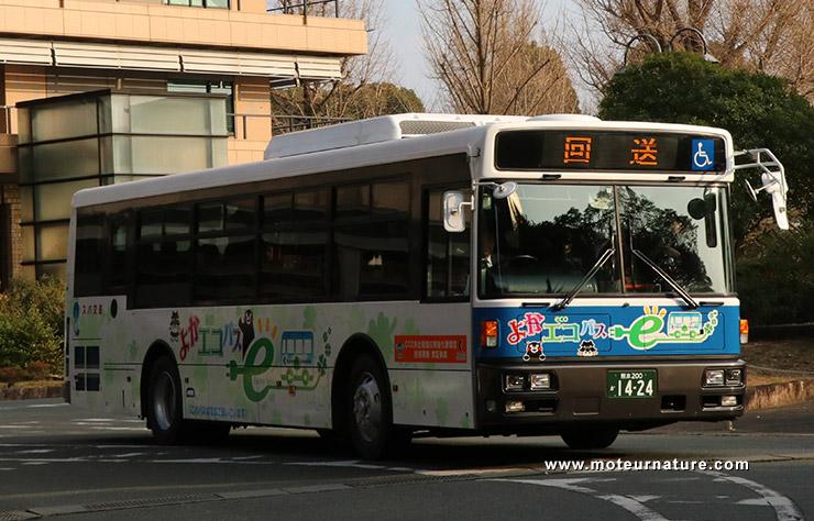 Autobus électrique japonais