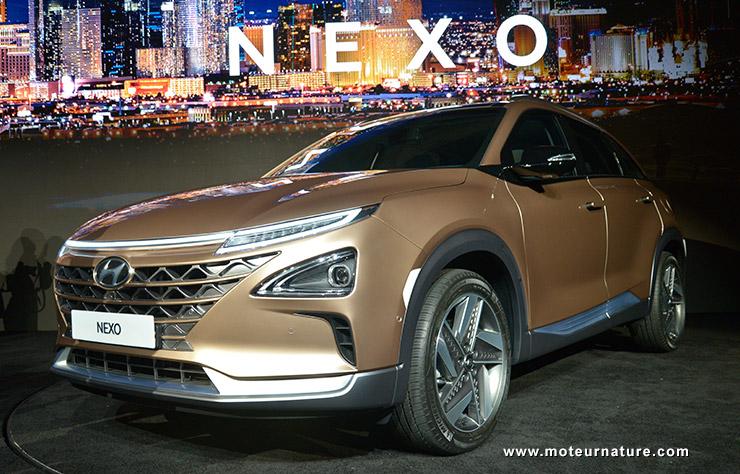 Hyundai Nexo à hydrogène