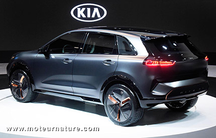 l 39 tonnant concept kia niro lectrique. Black Bedroom Furniture Sets. Home Design Ideas