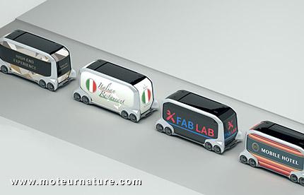 E-Palette de Toyota