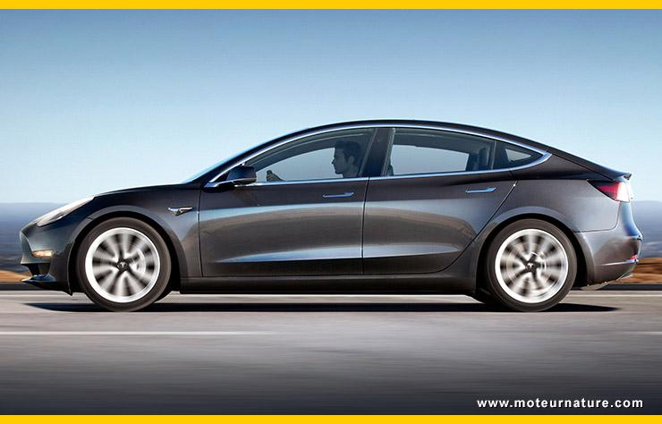 Tesla repousse encore l'objectif de production du Modèle 3