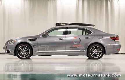 Concept Lexus autonome de Toyota