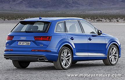 325kg en moins pour le nouvel Audi Q7