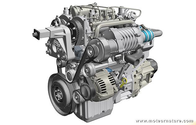 Renault étudie un bicylindre diesel 2temps
