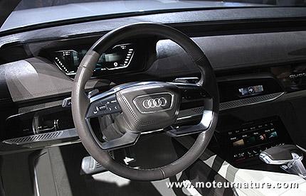 Audi songe à passer au tout tactile pour ses intérieurs