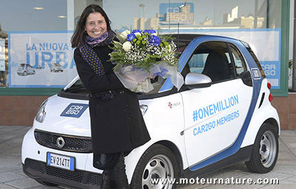 Un million de clients car2go