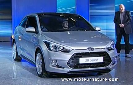Hyundai présente une jolie version 3portes de son i20