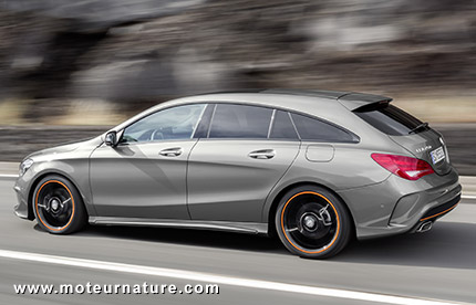 Break Mercedes CLA, sans concurrence