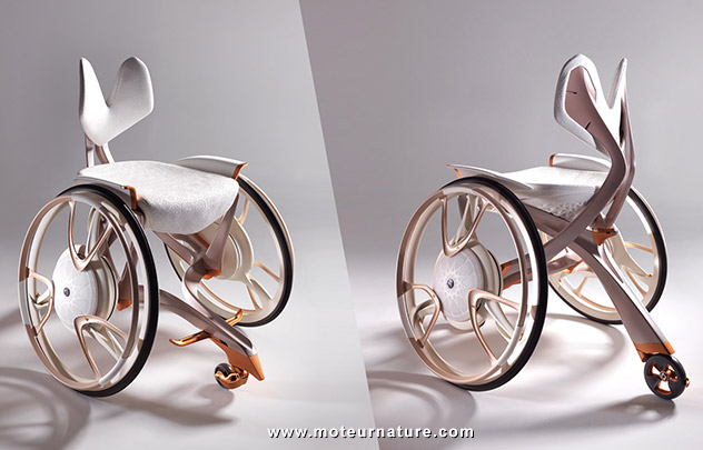 Yamaha Taurs, le plus beau des fauteuils roulants