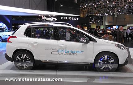 Peugeot 2008 Hybrid Air concept