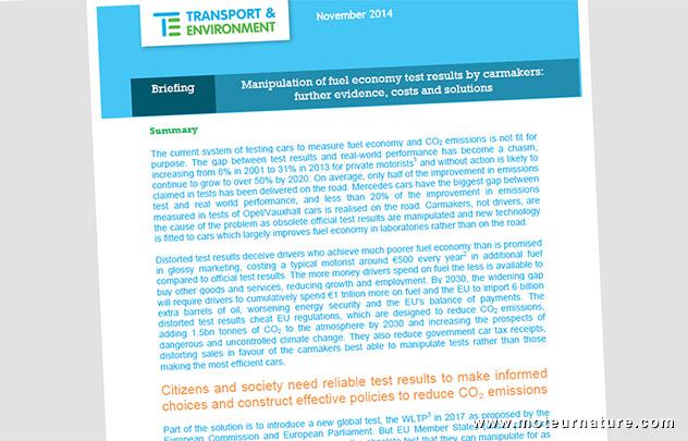 Rapport Transport & Environnement