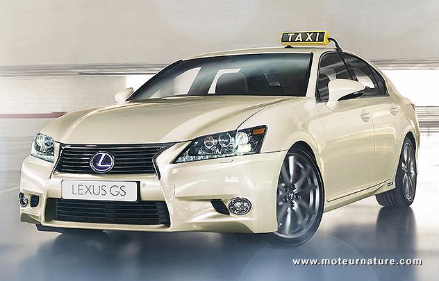 Lexus lance une offre spéciale pour les taxis