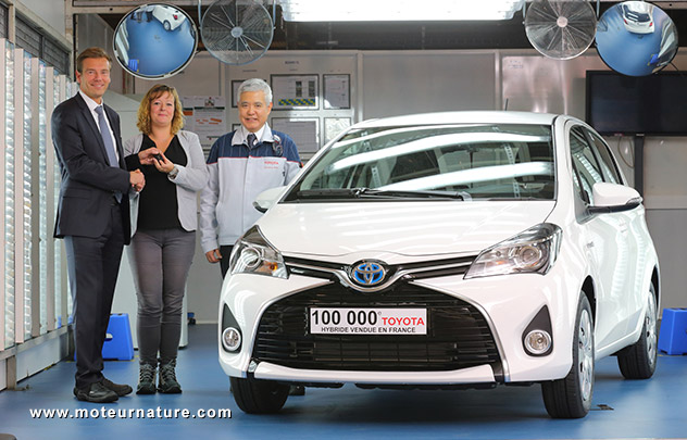 100 000 hybrides Toyota en France