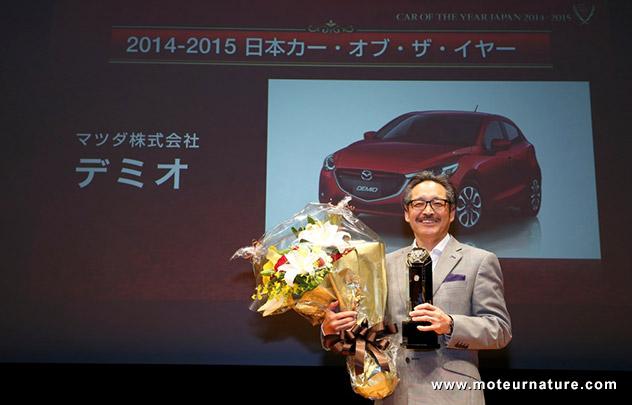 La Mazda 2 voiture de l'année au Japon